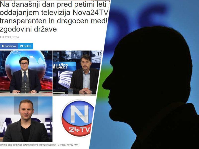 Laži »prvih v službi resnice«: Z zavajanjem o članku Kleine Zeitunga počastili obletnico delovanja nesamostojne televizije