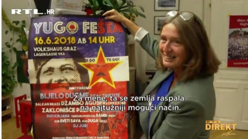 Komunizem se vrača: Zakaj ima nova županja Gradca sliko Tita in Jovanke