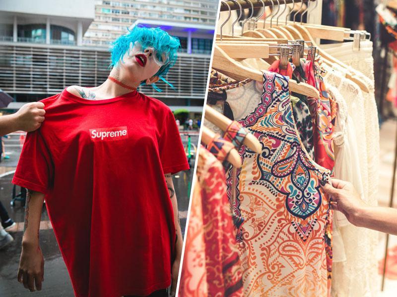 Vse za cent: stotine kupcev se je pulilo za obleke, noro razprodajo bodo še ponovili
