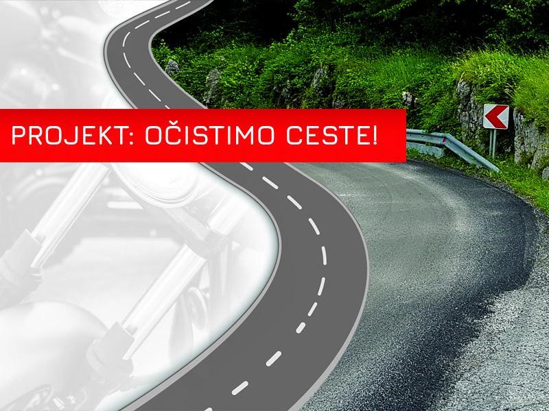 Projekt: OČISTIMO CESTE - proti pesku na planinskih ridah, 2. del