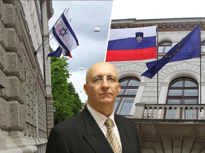 Janša izobesil zastave nezakonito, bo vlada plačala globo 417 evrov? Zakaj o prekršku na njegovi stavbi molči Pahor?