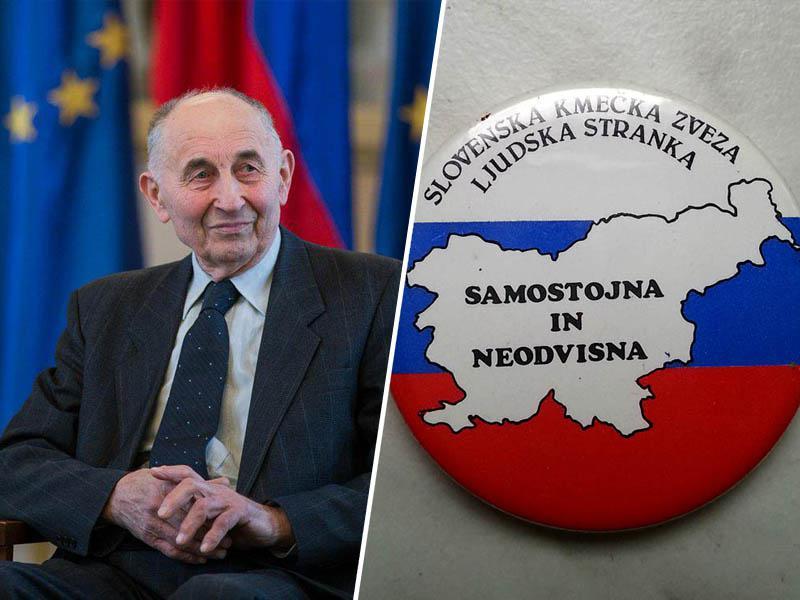Poslovil se je Ivan Oman, eden ključnih politikov pri demokratizaciji in razglasitvi neodvisnosti Slovenije