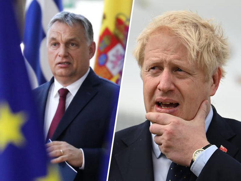 EU razmišlja o novem, 14-mesečnem odlogu »brexita«. Ga bo onemogočil Johnsonov tajni zaveznik Viktor Orban?