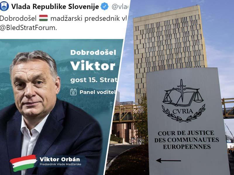 Blejski forum: Gostoljubje kršilkam evropske zakonodaje in državam z ozemeljskimi pretenzijami do Slovenije