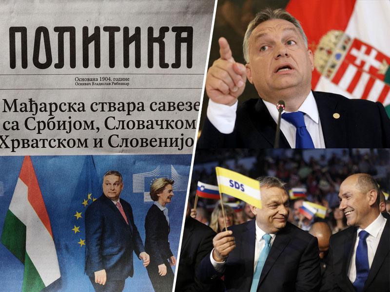 Odstop Hojsa, ki to ni: Janša dokazuje, da se medijskih manipulacij hitro uči od Orbana in Vučića
