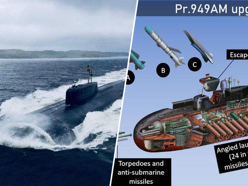 Podvodni Orel vznemiril NATO: Ruska jedrska podmornica je nepričakovano vstopila v Baltsko morje