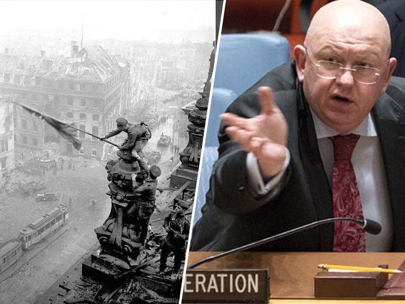 Ruski veleposlanik nemškemu: »Napaka! Berlin smo zavzeli, Minsk pa osvobajali!«