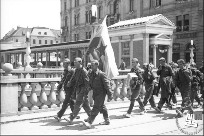 Danes Ljubljana praznuje svojo osvoboditev