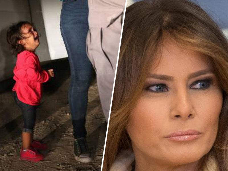 Otroci v kletkah: Melania Trump »sovraži« ločevanje otrok, za Lauro Bush pa je »kruto« in »nemoralno«