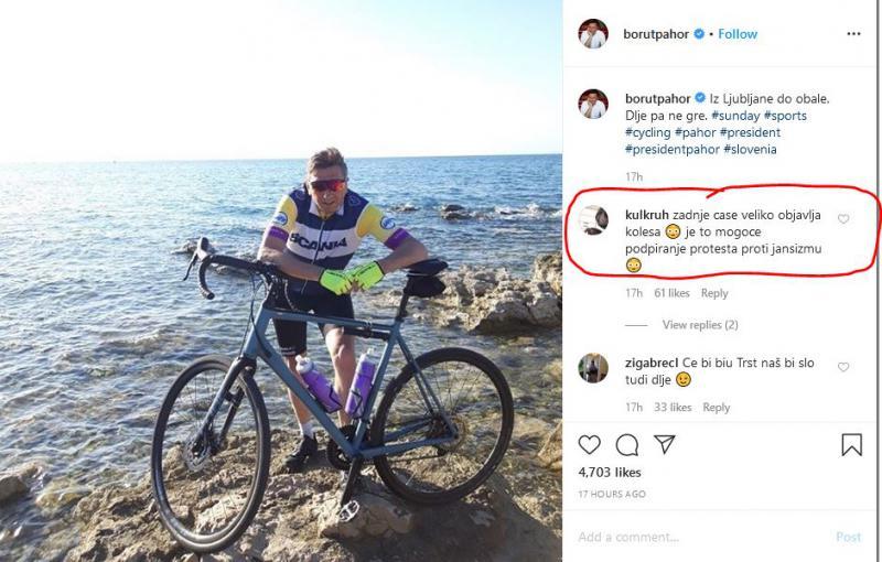 Pahor, padli kralj Instagrama: »Ali občutite kaj sramu? Ali razumete, da se boste v zgodovino zapisali kot slabič?«