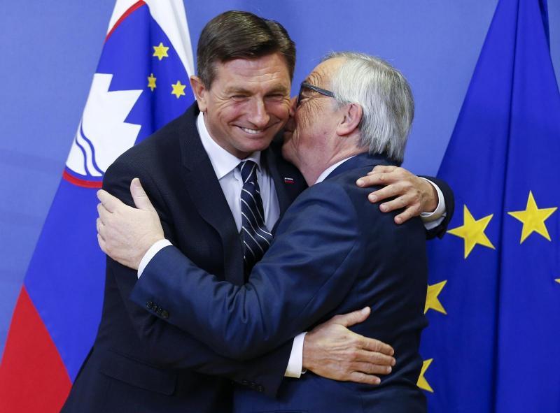 Pahor: Juncker in Grabar-Kitarovićeva sta me s pripravljenostjo na klepet o arbitraži prijetno presenetila