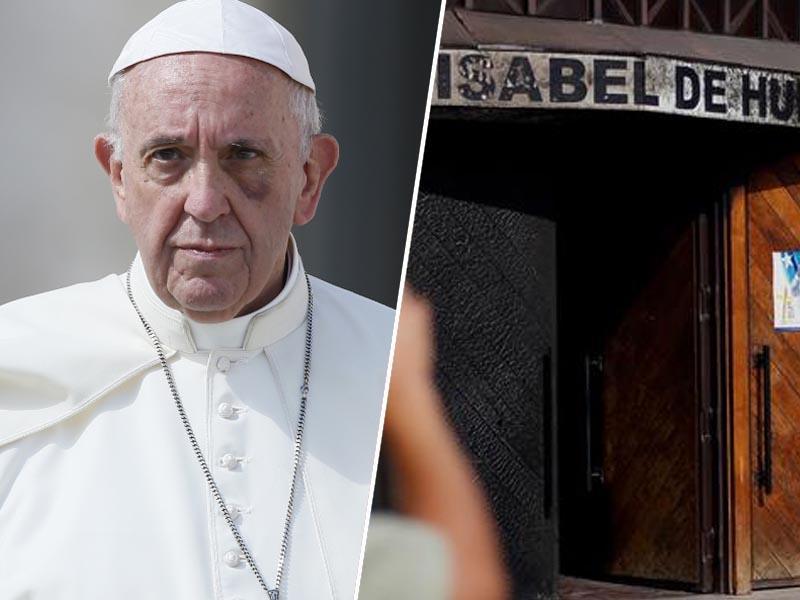 Papež Frančišek se odpravlja v Čile kljub seriji požigov cerkva