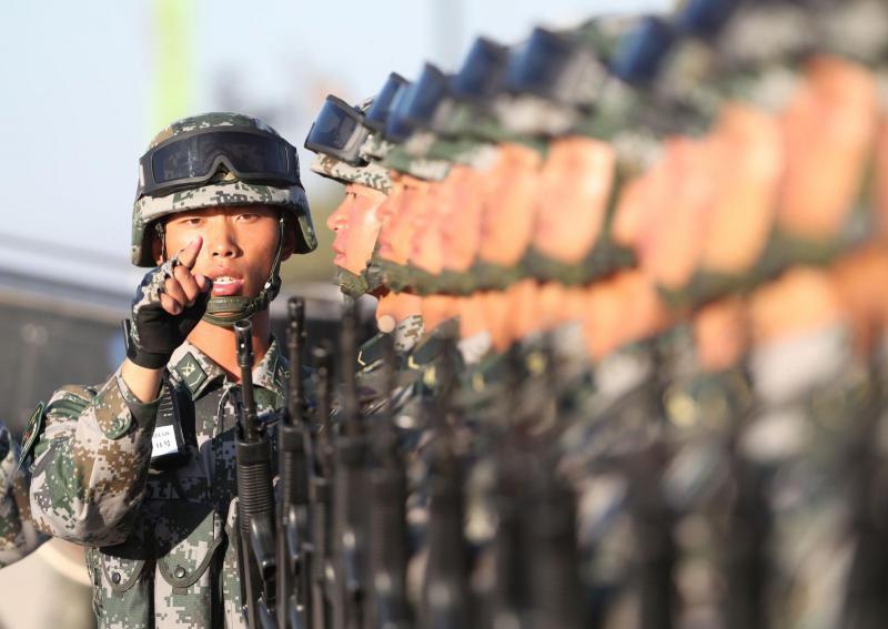 Kitajska odpravila »sredinsko črto«, ameriške vojake na Tajvanu pa označila kot povod za »pravično vojno«