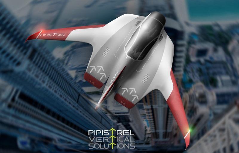 Pipistrel na Uberjevi konferenci s konceptom zračnih plovil za mestni promet