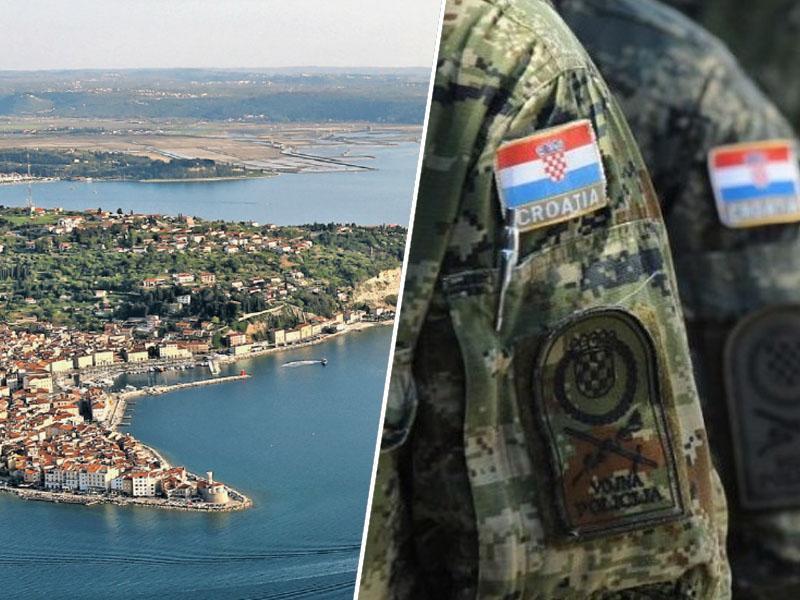 V ponedeljek bodo hrvaški vojni veterani in ribiči zasedli Piranski zaliv