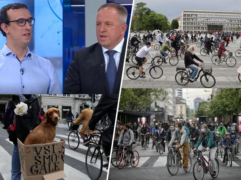 Laži ministra Zdravka Počivalška razgrele kolesarje, vlada pa se pri odgovorih glede ventilatorjev zapleta