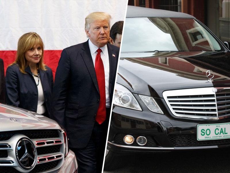 Donald Trump od pogrebnikov za prevoze po Irski najel štiri limuzine za milijon dolarjev