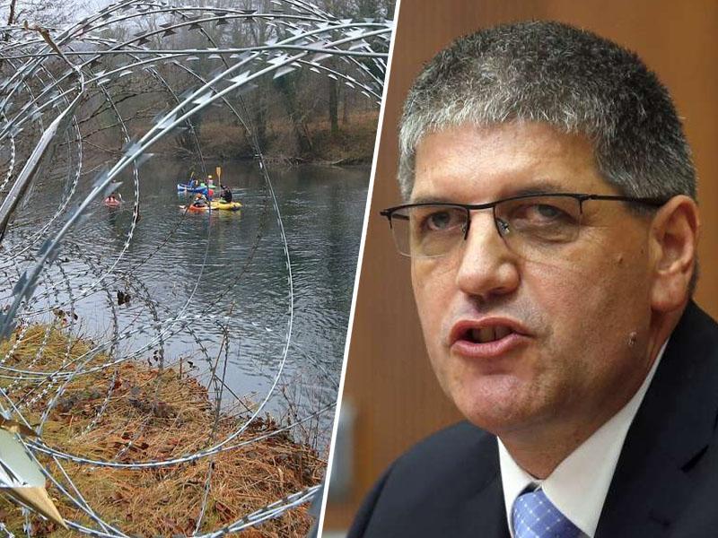Policija želi v Beli krajini »povečati začasne tehnične ovire«, migranti pa ne vplivajo na turizem