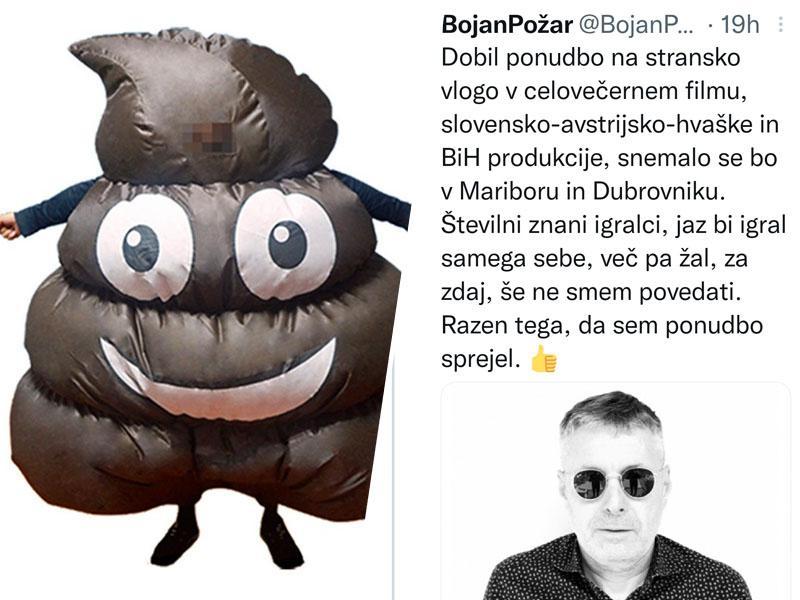 Politik Bojan Požar bo postal igralec: Igral bo - novinarja!