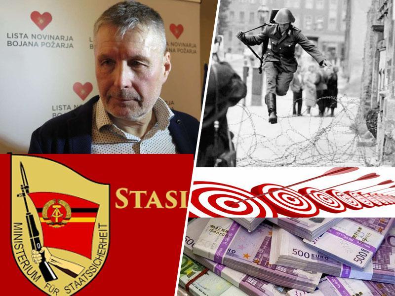 Afera Bojan Požar: šolan v Stasiju, vzdrževan na plečih države in plačan za medijske umore