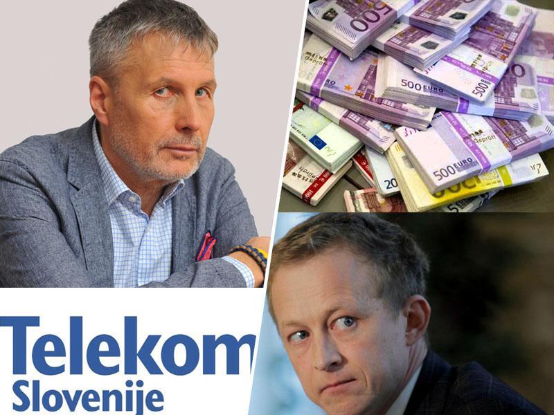 Sreča na vrvici: propadli politik Bojan Požar odvisen od Telekoma, o katerem »neodvisno« poroča