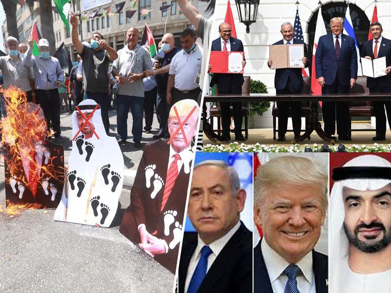 Abrahamov sporazum, ki vodi v nove spopade: Izdaja Palestincev in pakt okupatorja z diktaturo