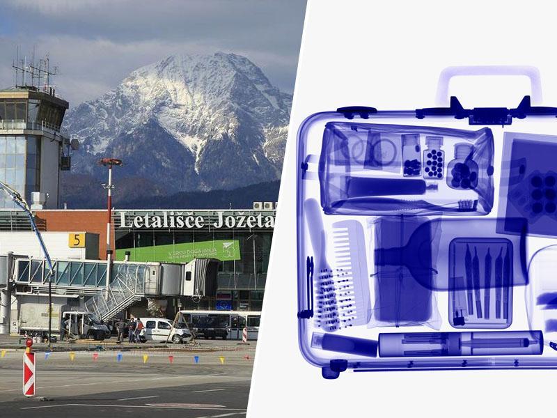 Zaostali: tuja letališča uvajajo »milimetrske skenerje«, na Brniku pa spregledajo