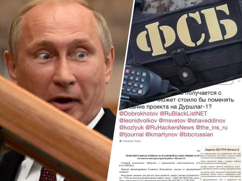 Šok za Putina: Hekerji vdrli v rusko tajno službo FSB, pokradli in objavili načrte o super tajnih ruskih projektih