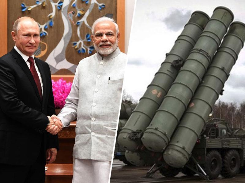 Indija kljub grožnjam ZDA kupila rakete S-400 od Rusije