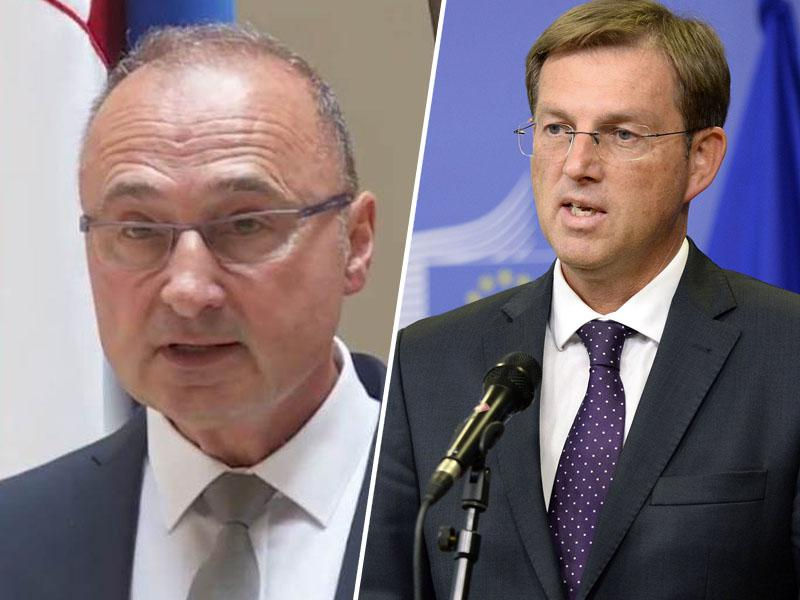 Hrvaški zunanji minister v Sloveniji s polomljeno slovenščino, na Hrvaškem pa z neresnicami o Cerarju