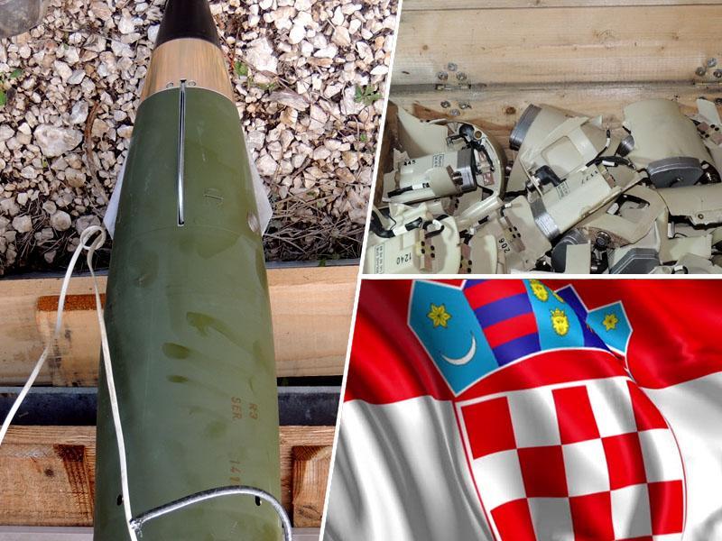 Na Hrvaškem uničili slovenske rakete zemlja-zrak, Slovenija brez učinkovite protizračne obrambe