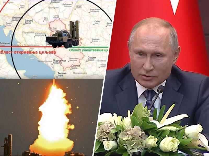 Putin ponuja rakete S-400 Savdski Arabiji, želijo si jih tudi v Srbiji. Bodo iz Niša »pokrivale« tudi Slovenijo?