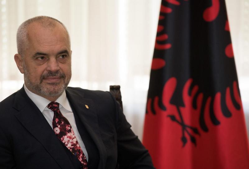 Edi Rama: Kosovo je del Albanije, združitev Kosova in Albanije ni načrt B, ampak načrt A