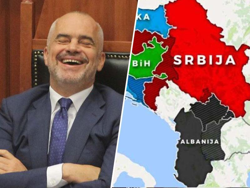Kako ga je Rama pokazal Janši: »Non-paper«, perfidna albanska past za naivneže iz Slovenije in EU