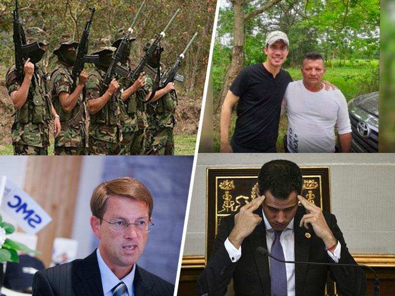 Predsednik države, ki ga priznava Slovenija, slikan objet s pripadniki mafije, tihotapci mamil in morilci
