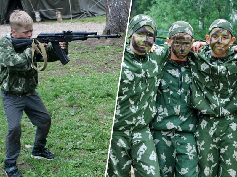 Ruska mladina poletje preživlja na vojaških taborih