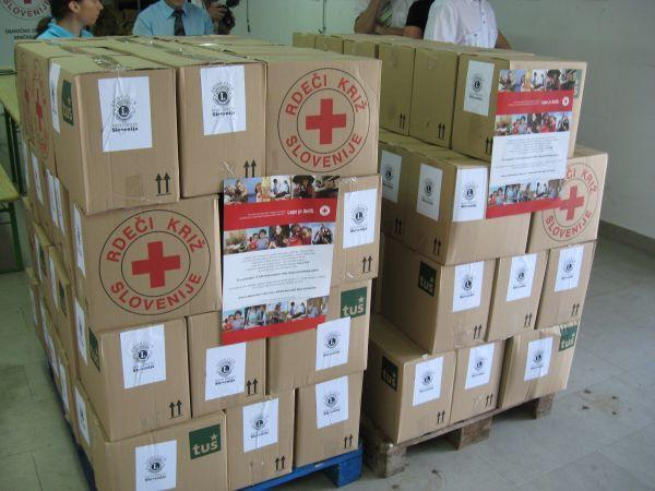 Biogen pomaga: 43.000 EUR za Rdeči križ Slovenije