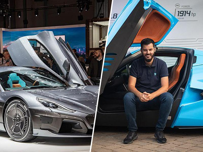 Wall Street Journal : The Next Tesla? Rimac's All-Electric Hypercar Is Built to Race the Big Boys  Rimacmate