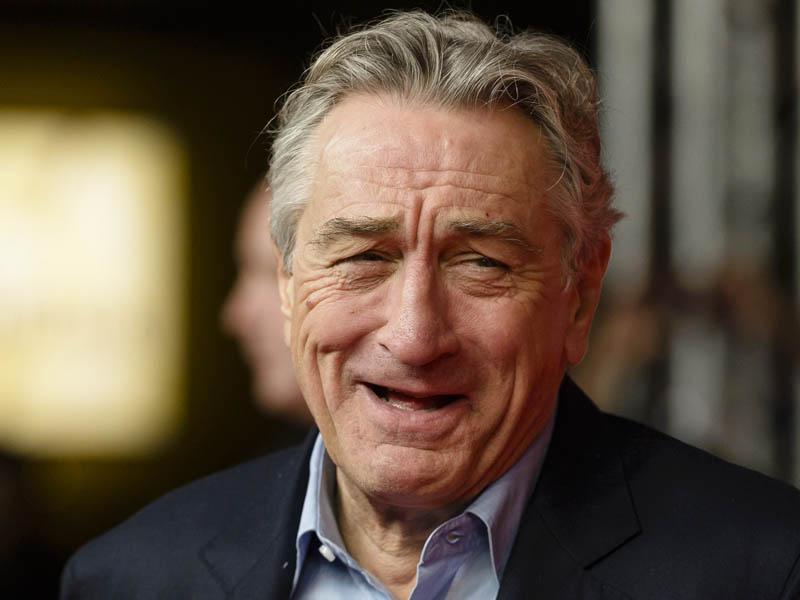 Robert de Niro praznuje 75 let