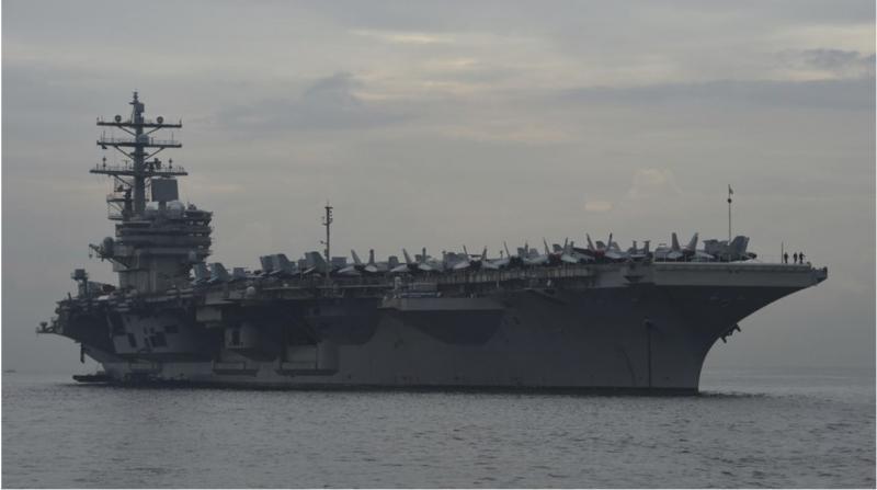 Mornarica kaznovala skupino mornarjev zaradi uporabe LSD-ja - ob jedrskem reaktorju letalonosilke