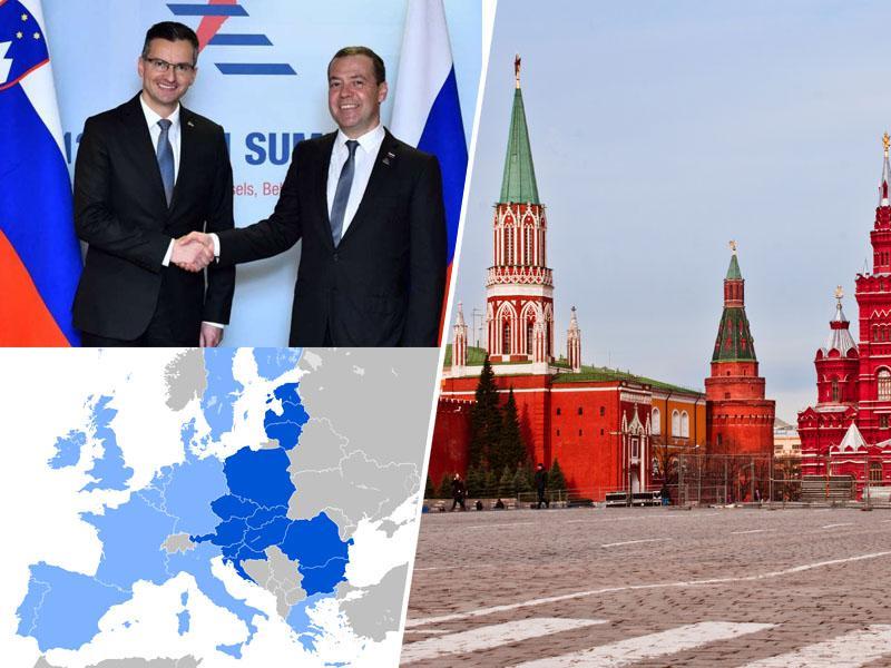 Junija Pahorjevo energetsko obkoljevanje, septembra Šarčevo prijateljsko trepljanje: premier na obisku v Rusiji