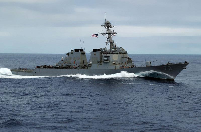 Bližnje srečanje kitajske in ameriške vojaške ladje v Južnokitajskem morju