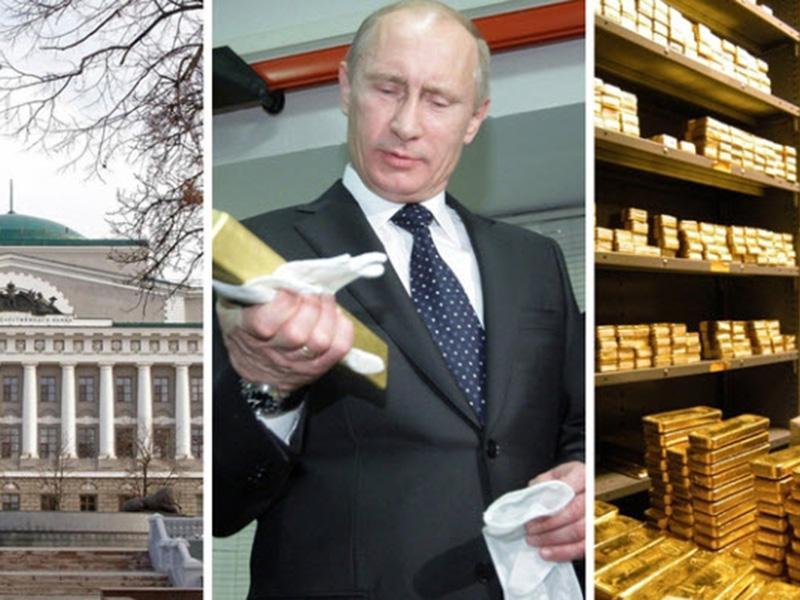Rusi kupčkajo zlato, Hrvaška nima niti grama, kaj pa Slovenija?