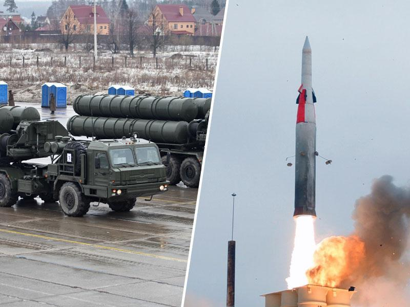 Ruska vojska na Krimu izvedla vojaške vaje z bojnim lansiranjem protizračnih raket S-400