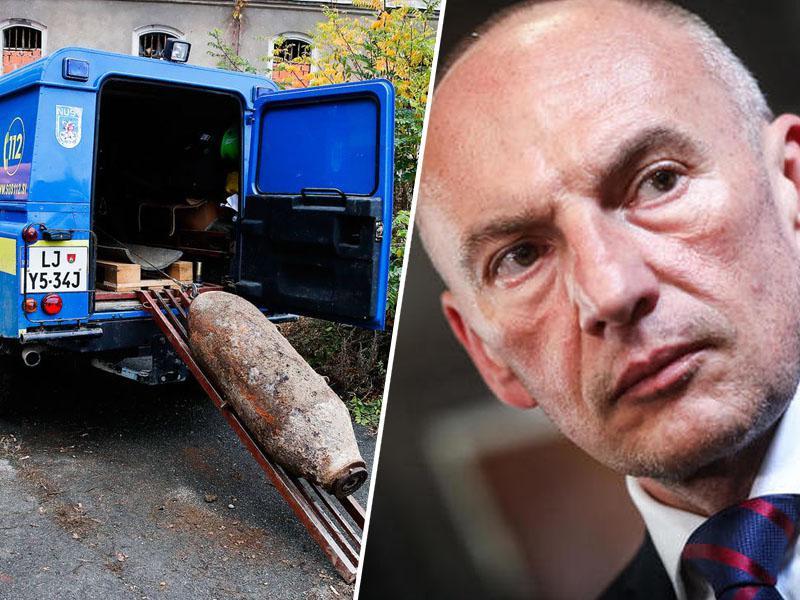 Šabeder v času odstranjevanja bombe obiskal UKC Maribor in preverjal varnost pacientov