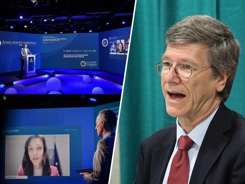 Jeffrey Sachs: »Pri bitcoin rudarjenju gre za neverjetno izgubo resursov, politiki pa bi se morali odpovedati twitter računom«