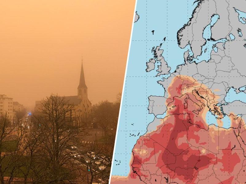 Marsovske pokrajine: saharski pesek nenavadno zgodaj zajel Evropo in Alpe, vse do Slovenije