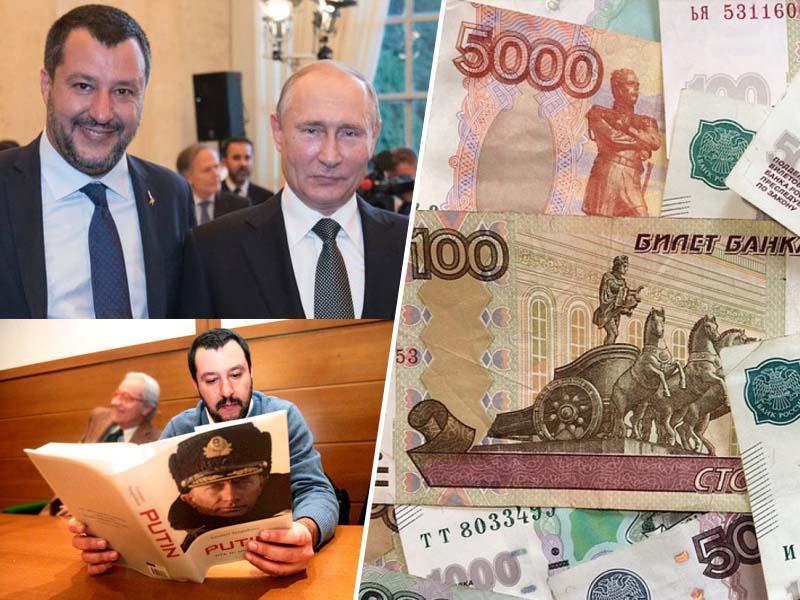 Kako so iz Rusije financirali Salvinijevo ligo: »Potrebujemo denar za politično kampanjo v korist obeh držav.«