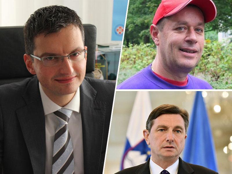 Anketa TT: Večina bi volila Marjana Šarca; sledita mu Šiško in Pahor