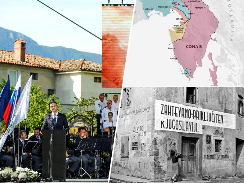 Slovenija praznuje praznik »vrnitve« - v resnici priključene - Primorske matični domovini